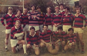 James Flaherty top row 2nd from right Rugby Washington DC